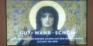 Plakat München Ausstellung Salon