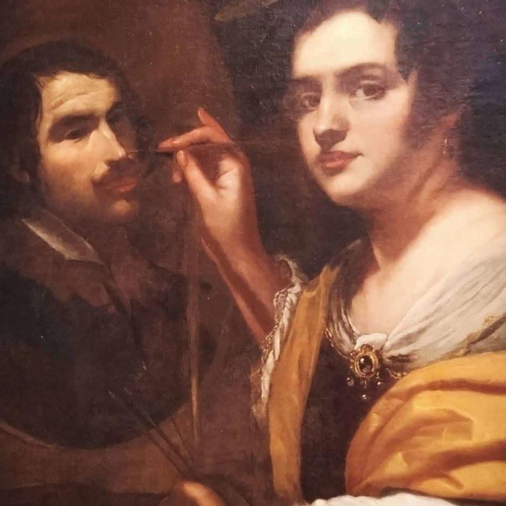 Simon Vouet, Porträt Artemisia Gentileschi