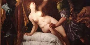 Artemisia Gentileschi, Die Vergewaltigung der Lucretia durch Tarquinius Sextus, Neues Palais, Potsdam. -